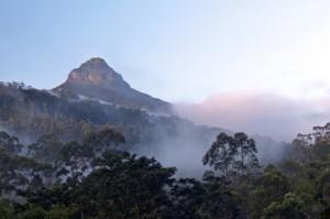Adams Peak am frühen Morgen in Sri Lanka