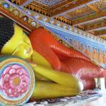 Liegender Buddha in Anuradhapura