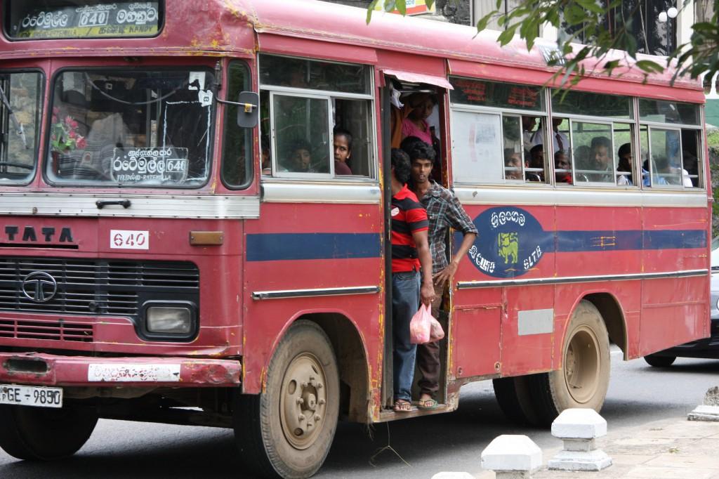 Mit dem öffentlichen Bus kann man auch reisen