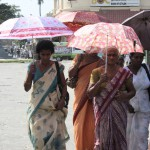 Gruppe von Frauen in Colombo