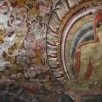 Felsmalereien in einer Höhle von Dambulla