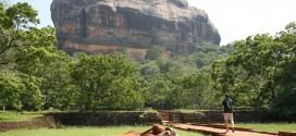 Der Sigiriya Felsen in Sri Lanka