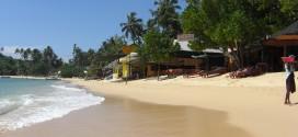 Der wirklich schöne Strand von Unawatuna