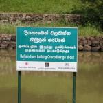 Auf bestimmte Hinweise sollte man in Sri Lanka achten ; )